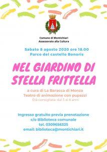 Nel giardino di Stella frittella @ parco del Castello Bonoris | Montichiari | Lombardia | Italia