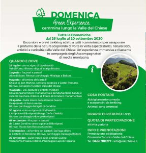 Green Experience nella Valle del Chiese @ luoghi Valle del Chiese