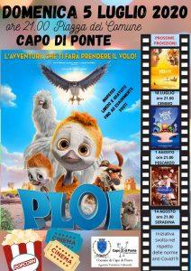 Cinema all'aperto a Capo di Ponte @ Capo di Ponte