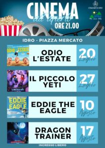 Idro - Cinema all'aperto 2021 @ Idro | Crone | Lombardia | Italia