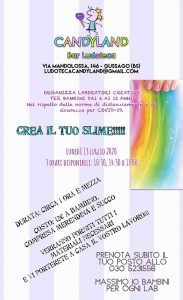 Crea il tuo slime @ Candyland