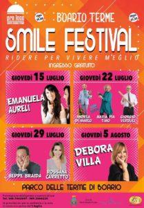 Darfo Boario Terme Smile Festival @ Terme di Darfo Boario Terme | Darfo Boario Terme | Lombardia | Italia
