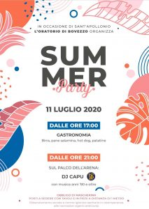 Summer Party Bovezzo