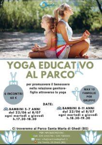 Yoga Educativo al Parco a Ghedi @ Parco S. Maria di Ghedi