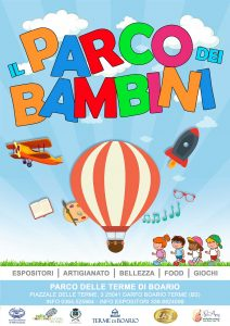 Il parco dei bambini @ Parco delle Terme di Boario