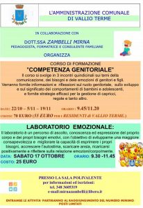 Emotivamente competenti - La competenza genitoriale @ sala polivalente di Vallio | Cunettone | Lombardia | Italia