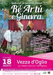 Re Artù e Ginevra - Vezza d'Oglio @ Vezza d'Oglio | Temù | Italia