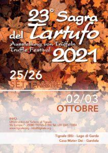 Tignale - Sagra del tartufo @ Piazzale delle Ginestre a Tignale   Tignale   Lombardia   Italia