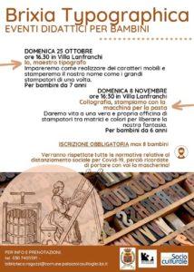 Brixia Typographica a Palazzolo @ Villa Lanfranchi | Palazzolo sull'Oglio | BS | Italia