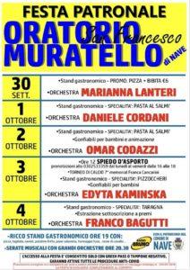 Muratello in festa @ oratorio di Muratello di Nave | Nave | Lombardia | Italia