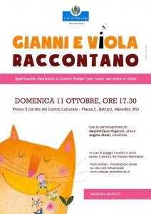 Gianni e Viola raccontano @ Cortile del centro culturale Manerbio | Padernello | Lombardia | Italia