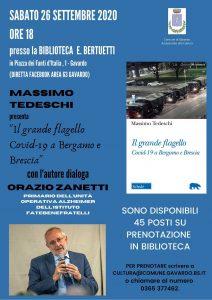 Il grande flagello Covid-19 a Bergamo e Brescia @ Biblioteca di Gavardo