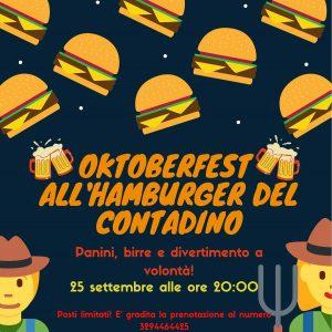 Oktoberfest a Chiari @ Hamburgeria del contadino