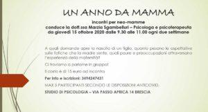 Un anno da mamma @ Studio di Psicologia | Piazza | Lombardia | Italia