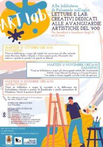 Art lab a Palazzolo @ Biblioteca Civica G.U. Lanfranchi | Palazzolo sull'Oglio | BS | Italia