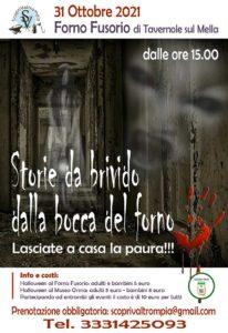 Tavernole - Halloween: storie di paura, dalla bocca del Forno @ Forno Fusorio