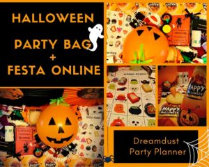 Halloween Party Box e festa online @ online