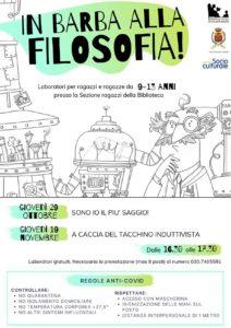 In barba alla filosofia a Palazzolo @ Biblioteca Civica G.U. Lanfranchi | Palazzolo sull'Oglio | BS | Italia