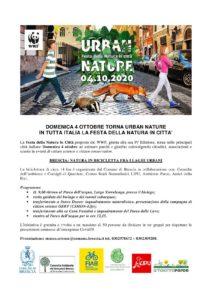 Urban nature @ partenza e arrivo Parco dell'Acqua