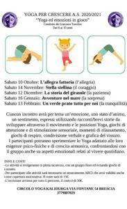 Yoga ed emozioni in gioco @ circolo yoga Kalidurga