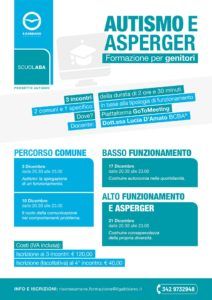 AUTISMO E ASPERGER - Formazione per genitori @ online - Piattaforma GoToMeeting