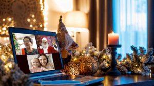 In videochiamata con Babbo Natale @ online