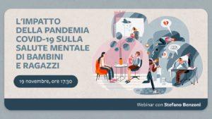 L'impatto della pandemia Covid-19 sulla salute mentale di bambini e ragazzi @ Online con Facebook Live