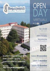 Open day scuole paritarie Rogazionisti @ online