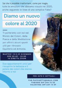 Diamo un nuovo colore al 2020 @ online - piattaforma Zoom