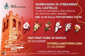 Inzi finzi - Fiaba di Natale @ Narrazioni in streaming dal Castello di Desenzano