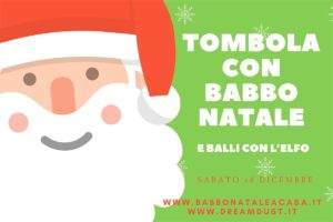 Tombola con Babbo Natale @ online