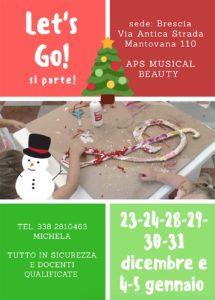 Let's Go - campus natalizio Giococanto - Brescia @ sede di Brescia