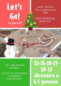 Let's Go - campus natalizio Giococanto - Rovato @ sede di Rovato