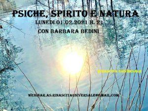 Psiche, Spirito e Natura @ online - piattaforma Zoom