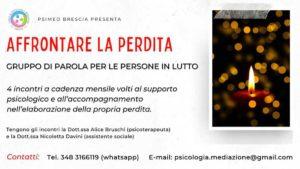 Affrontare la perdita @ Studio di Psicologia e Mediazione Familiare Brescia