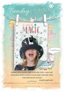 Laboratorio di magia in inglese - A world of magic @ Kids&Us Franciacorta