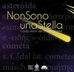 I corpi minori del sistema solare - Non sono una stella @ online - piattaforma Zoom