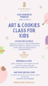 Art&Cookies Class for kids @ CONTI THUN Winery & CountryHouse