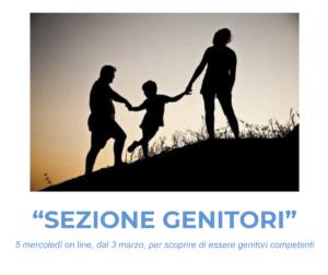 Incontri per genitori: Sezione genitori @ online
