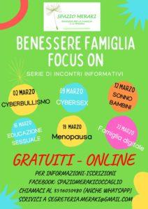 Benessere in famiglia - focus on @ online