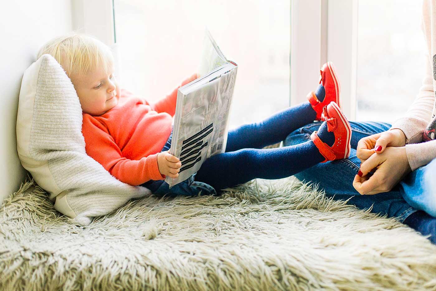 leggere ai bambini. i consigli per stare bene insieme leggendo
