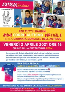 mini Corrixautismo 2021 @ online - piattaforma Zoom | Brescia | Lombardia | Italia