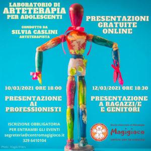 Laboratorio arteterapia per ragazzi @ online