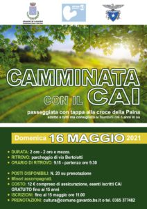 Camminata con il CAI - Gavardo @ Partenza e arrivo nel parcheggio di via Bertolotti | Gavardo | Lombardia | Italia