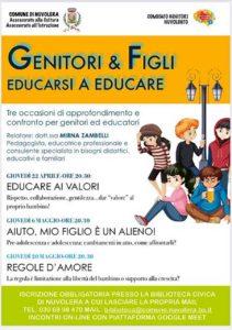 Incontri per genitori e figli: educarsi a educare @ online - piattaforma Meet