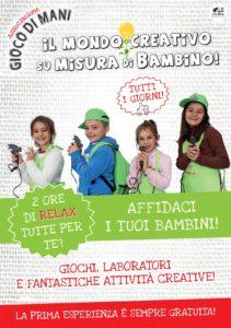 Laboratori di manualità…libera la tua fantasia! con Giocodimani @ oratorio femminile S. Stefano Sale di Gussago