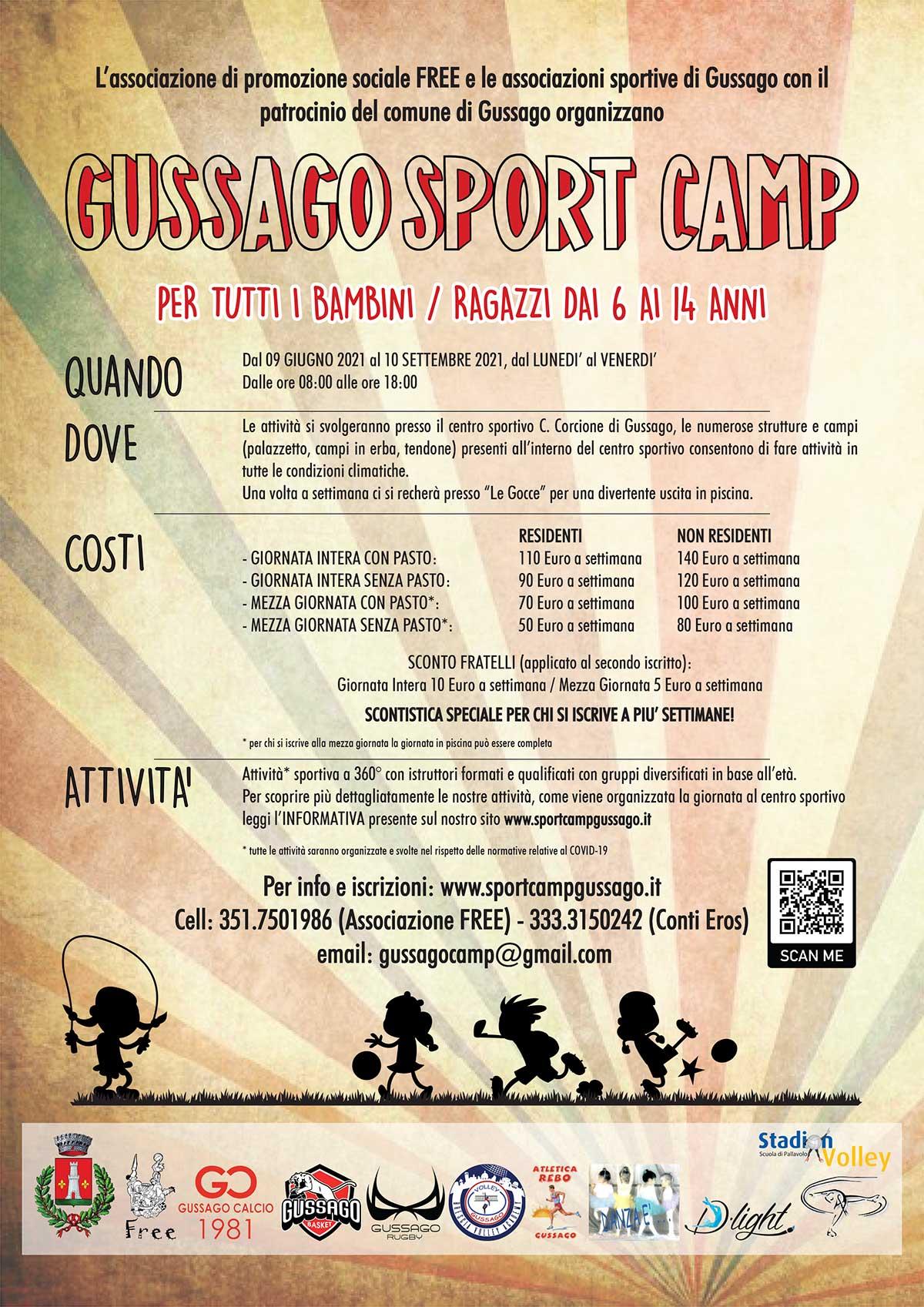 gussago-sport-camp esatate 2021