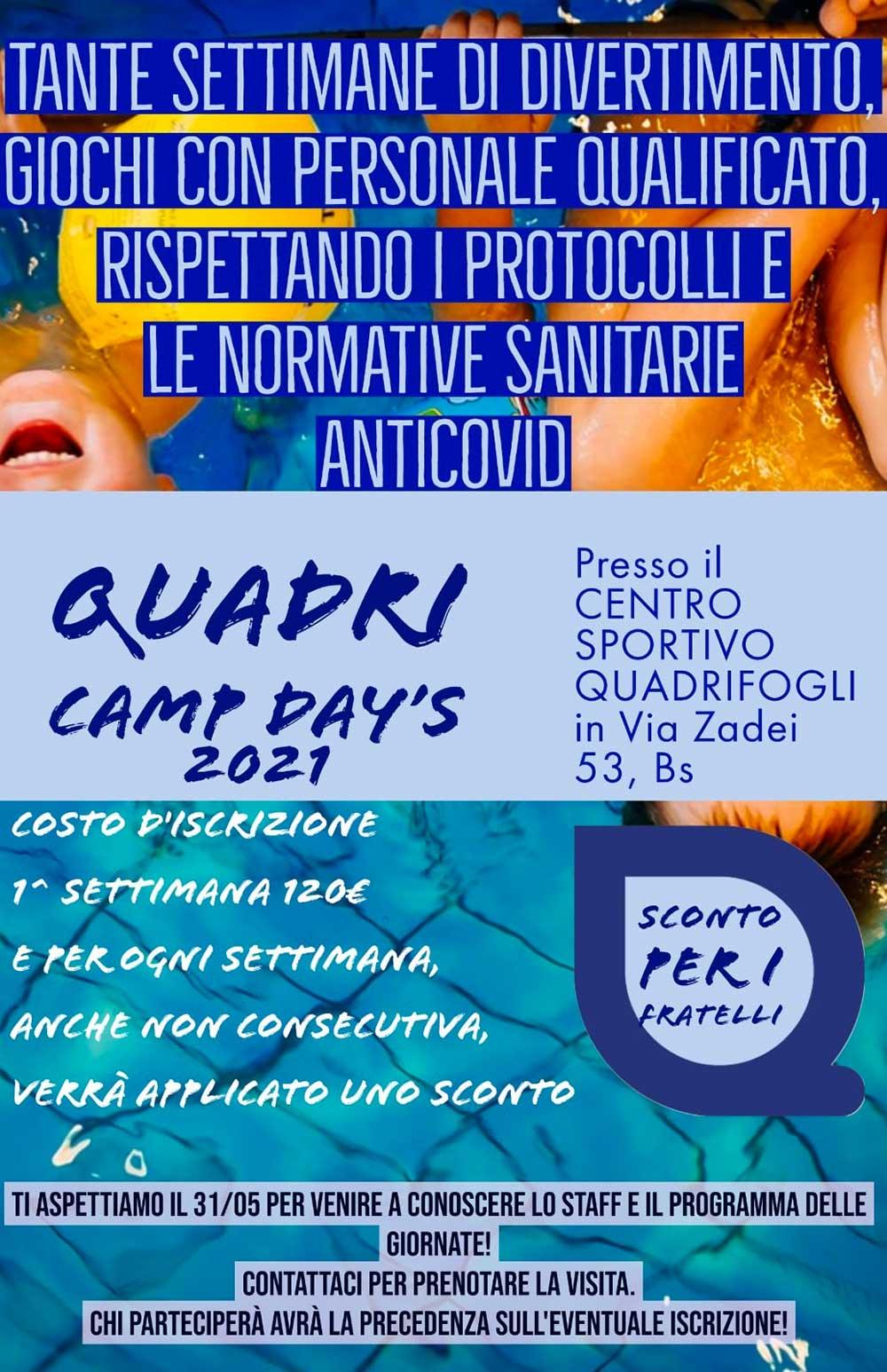 quadri-camp-days-programma