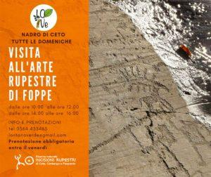 Visite guidate all'arte rupestre di Foppe  a Ceto - tutte le domeniche @ Parco incisioni rupestri | Darfo Boario Terme | Lombardia | Italia