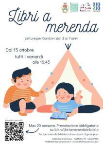 Libri a merenda - biblioteca di Concesio @ Biblioteca Concesio | Concesio | Lombardia | Italia
